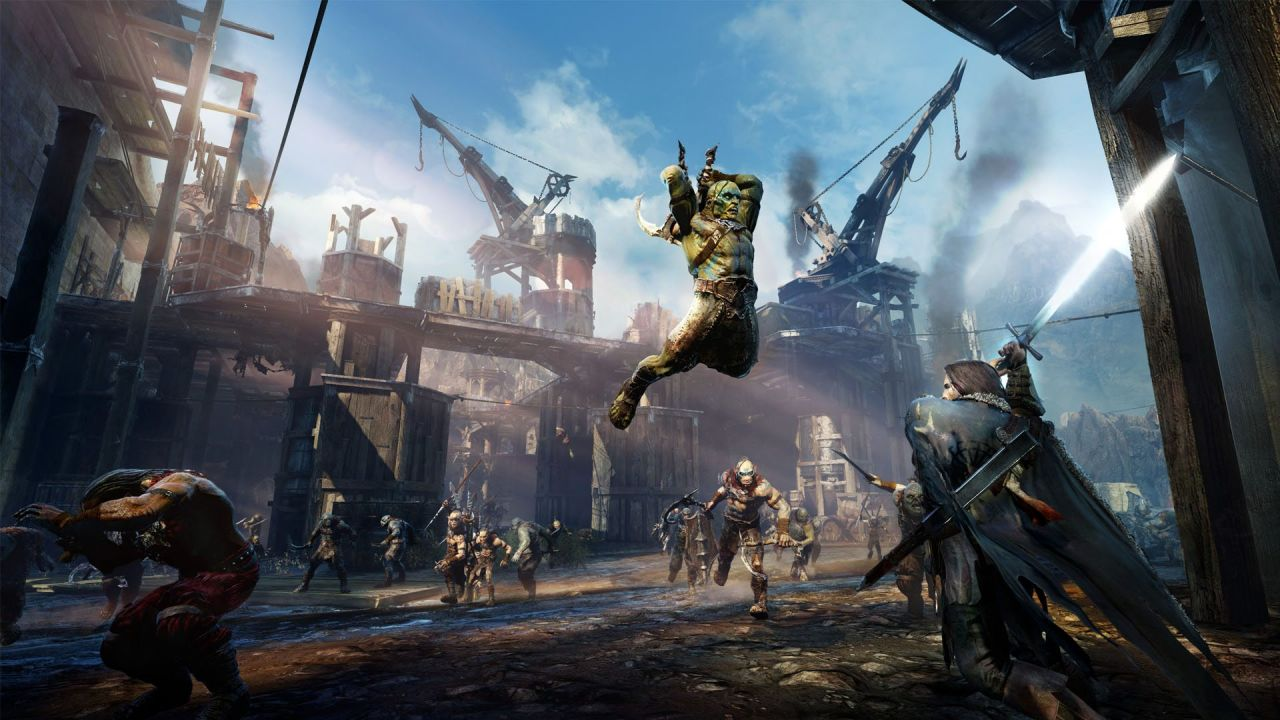 Middle-Earth: Shadow of Mordor (тени мордора) | игра для xbox one