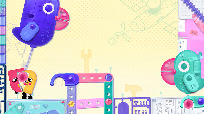Snipperclips Plus: Cut it out, together! | игра для nintendo switch