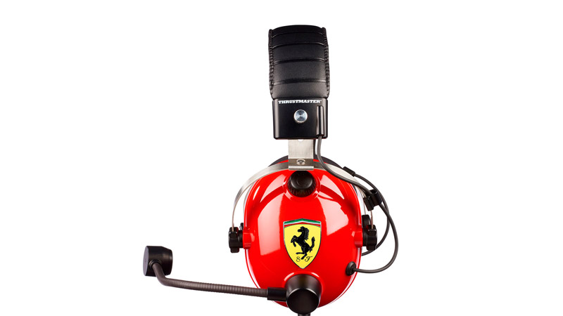 Игровая гарнитура Thrustmaster T.RACING SCUDERIA FERRARI EDITION (PC/PS4/XBOX ONE/SWITCH)