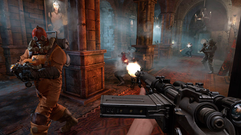 wolfenstein: the old blood | игра для PS4