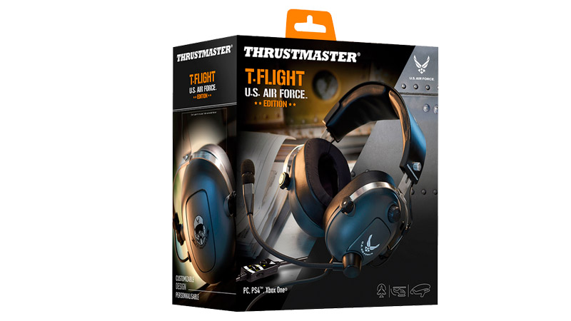 Игровая гарнитура Thrustmaster T.FLIGHT U.S. AIR FORCE (PC/PS4/XBOX ONE/SWITCH)