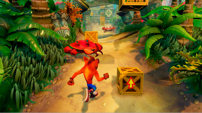 Crash Bandicoot N'sane Trilogy | игра для Xbox One