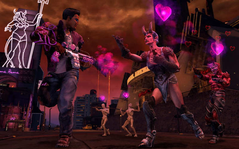 Saints Row IV: Re-Elected & Gat Out of Hell | игра для Xbox One
