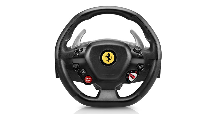 Руль Thrustmaster T80 Ferrari 488 GTB Edition (PS4)