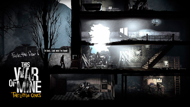This War of Mine: The Little Ones | игра для PS4