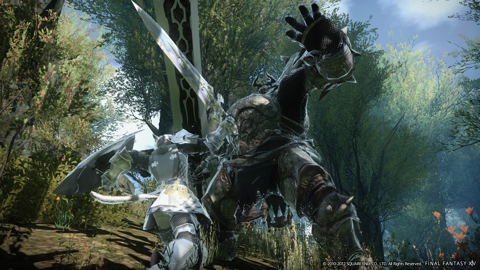 FINAL FANTASY XIV: A Realm Reborn (online only) (PS4)
