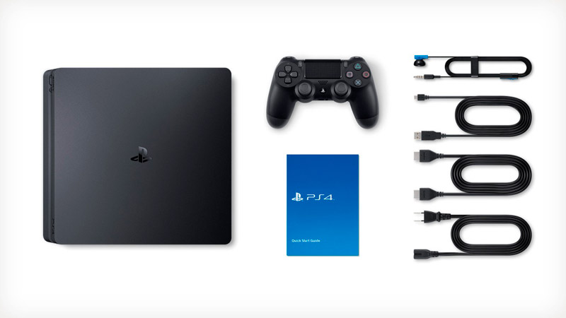 Sony PlayStation 4 SLIM 500gb Black (CUH-2116A) + игра Uncharted 4: A Thief's End (русская версия)