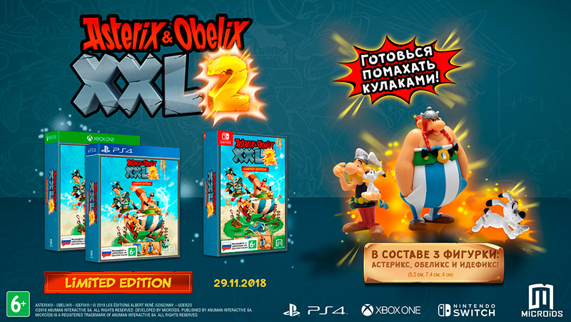 Asterix and Obelix XXL2. Limited Edition | игра для PS4