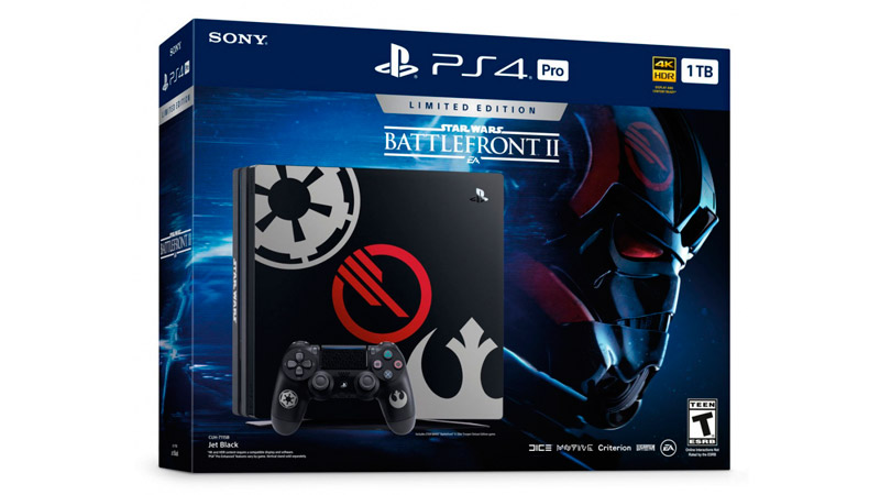 Sony Playstation 4 PRO 1Tb (4.73 vers.) Limited Edition Star Wars: Battlefront II (CUH-7116B)