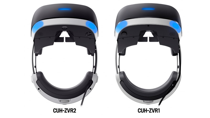 Шлем виртуальной реальности Sony PlayStation VR V2 (CUH-ZVR2) + Camera V2 + VR Worlds + Gran Turismo Sport