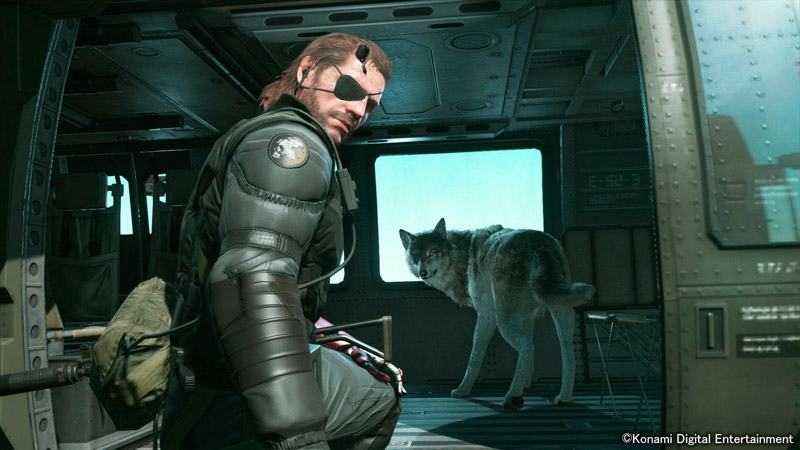Metal Gear Solid 5(V): The Phantom Pain | игра для PS4