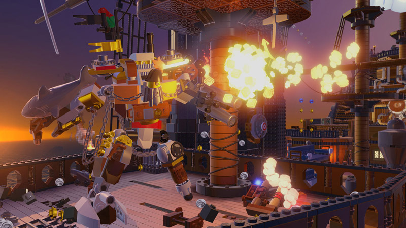 LEGO The movie | игра для PS4