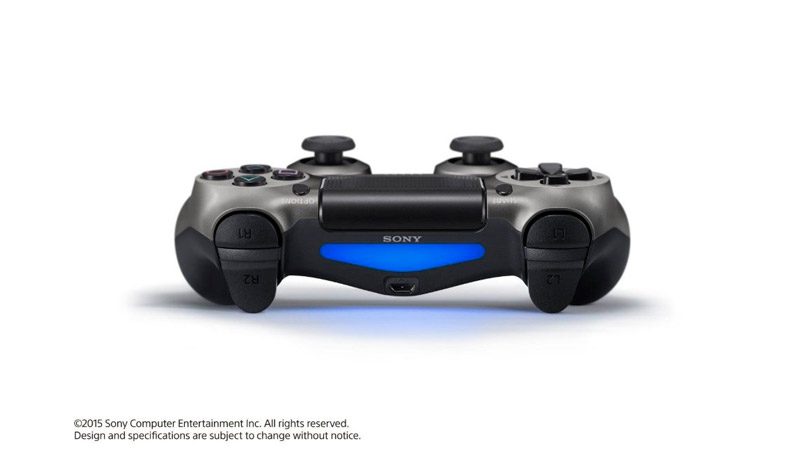 Джойстик Sony Playstation Dualshock 4 Steel Black