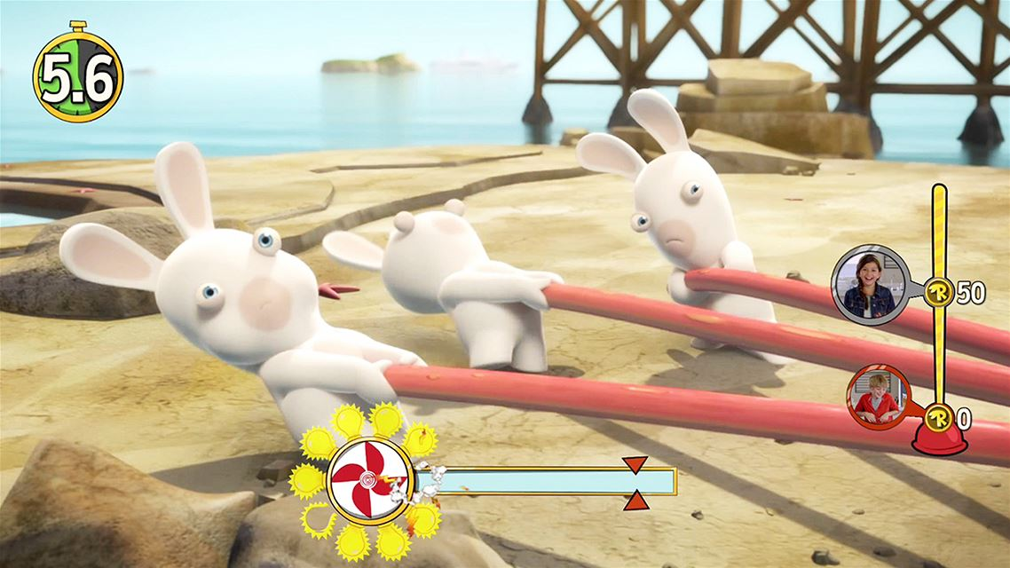 rabbids invasion | игра для PS4