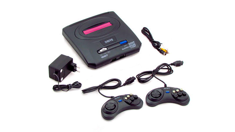 Sega Super Drive 8 (50-in-1) Black