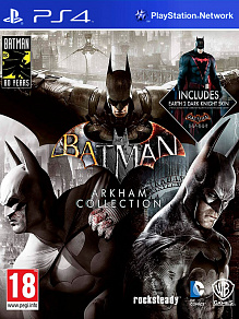 Batman: Arkham Collection SteelBook Edition | игра для PS4