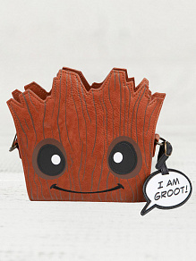 Сумка Funko LF: Marvel: GOTG: Groot Face X-Body Bag LF-MVTB0028