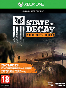 State of decay |  б.у. для Xbox One