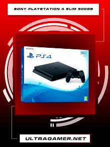 Sony PlayStation 4 SLIM 500Gb Black (CUH-2216A)