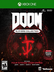 DOOM Slayers Collection (Doom + Doom 2 + Doom 3 + Doom 2016) | игра для Xbox One