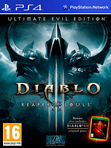 Diablo 3 Reaper of Souls - Ultimate Evil Edition |  (eng)  б.у. игра на PS4