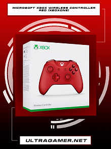 геймпад Xbox One Wireless Controller Red
