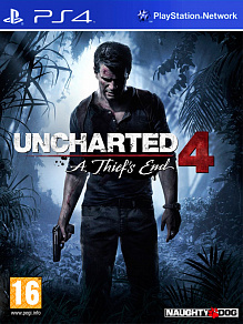 Uncharted 4: A Thief's End (путь вора) | игра для PS4
