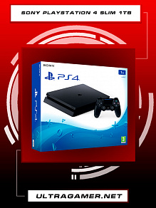 Sony PlayStation 4 SLIM 1Tb Black (CUH-2216B)