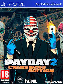 Payday 2 Crimewave Edition | б.у. игра на PS4