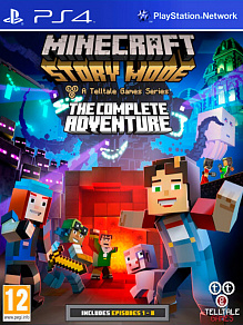 Minecraft: Story Mode - Complete Adventure (эпизоды 1-8) | б.у. игра на PS4
