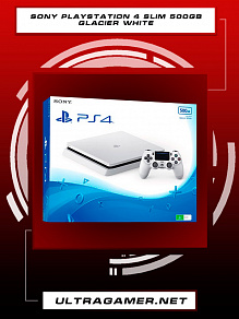 Sony PlayStation 4 Slim 500GB Glacier White (CUH-2216A)