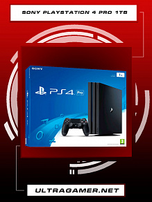Sony PlayStation 4 PRO 1Tb Black (CUH-7216B)