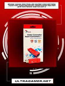 Brook Game Controller Super Converters Адаптер подключения геймпадов PS3/PS4 для Nintendo Switch/Wii U
