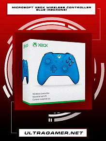 Геймпад Microsoft Xbox One Wireless Controller blue