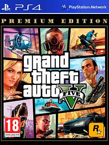 Grand Theft Auto V Premium Edition (gta5) | игра для PS4