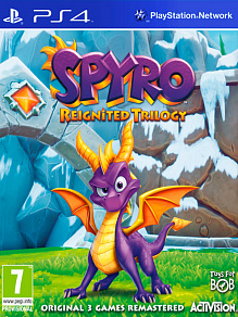 Spyro Trilogy Reignited | б.у. игра на PS4